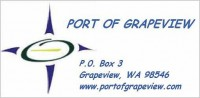Port of Grapeview logo