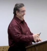 Frank Pinter after being selected Director of Support Services